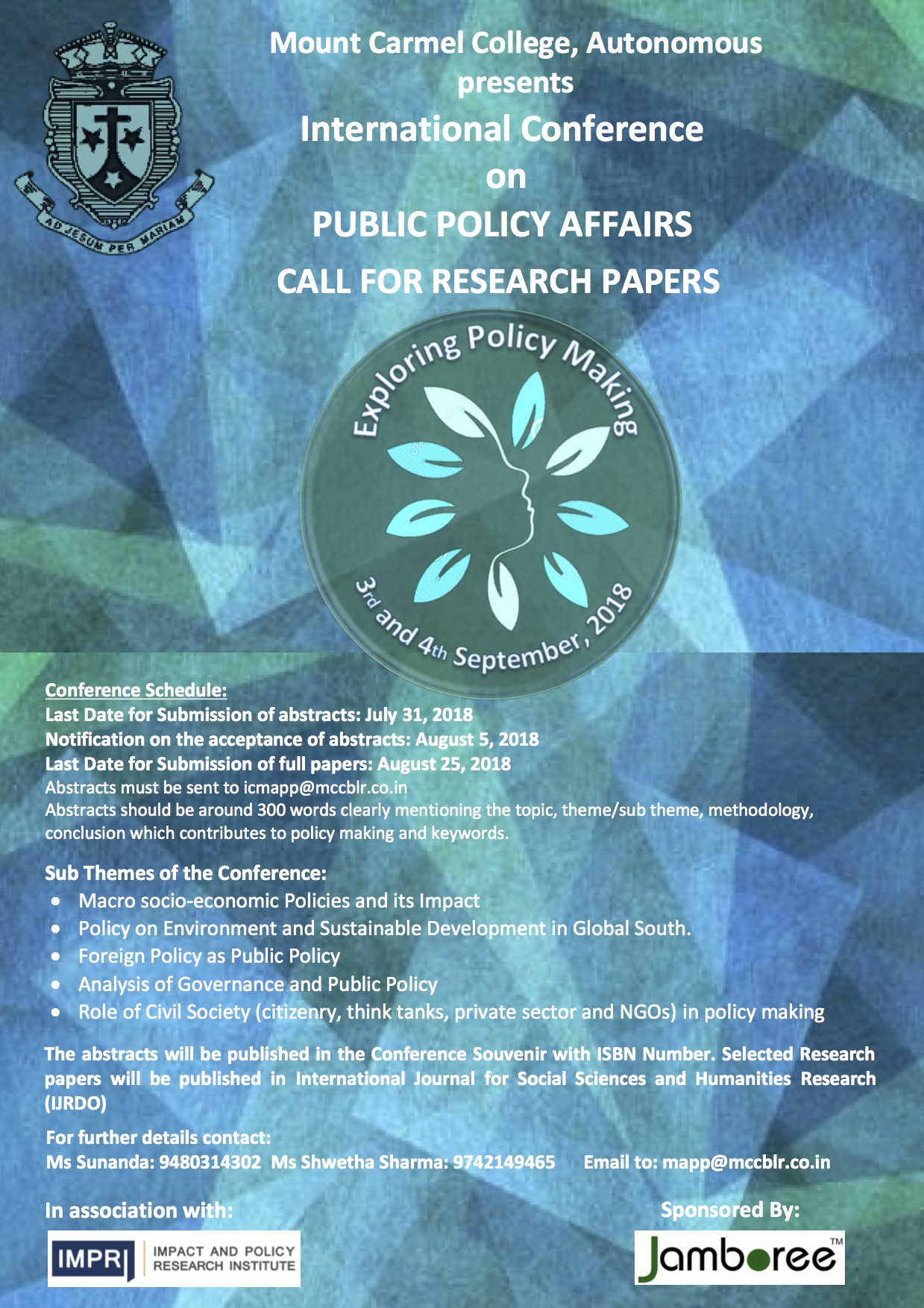 Conference Public Policy Affairs Bangalore