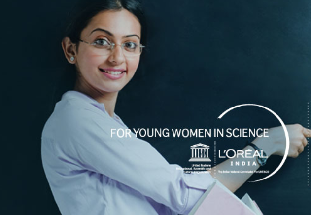 L'Oréal Young Women In Science Scholarship 2018 [Scholarship Worth Rs. 2.5L]: Apply by July 16