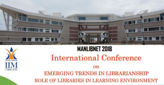 Emerging Trends Librarianship Conference IIM Trichy