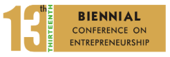 Biennial conference on entrepreneurship