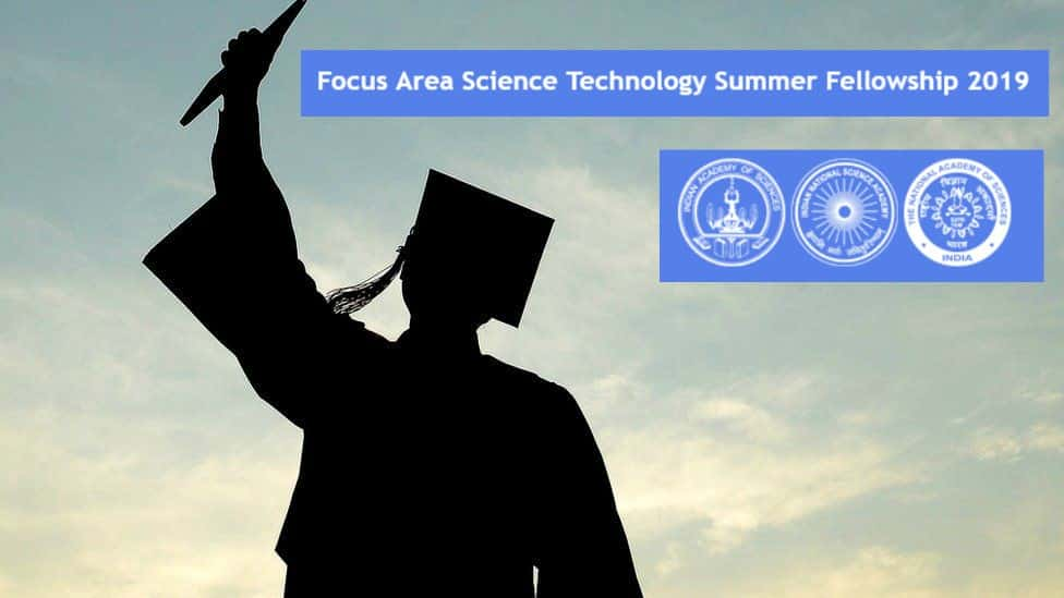 Focus Area Science Technology Summer Fellowship 2019 Science of materials