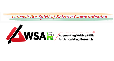 Call for Stories: Augmenting Writing Skills for Articulating Research (AWSAR) by Dept. of S & T, Govt. of India [Prizes worth: Rs. 14 L]: Submit by Sept 30
