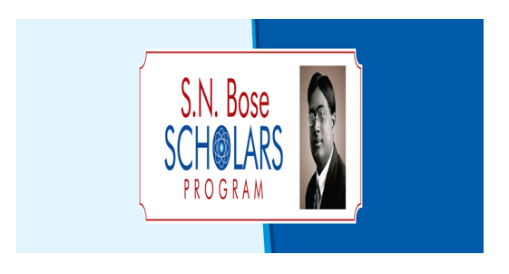 Fully Funded SERB-IUSSTF S.N.Bose Scholars Program in USA: Apply by Oct 31
