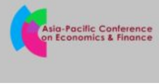 CfP: Asia-Pacific Conference on Economics and Finance 2019 by Universiti Malaysia Sarawak [July 25-26, Singapore]: Submit by April 11