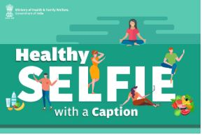 Healthy Selfie with a Caption Contest