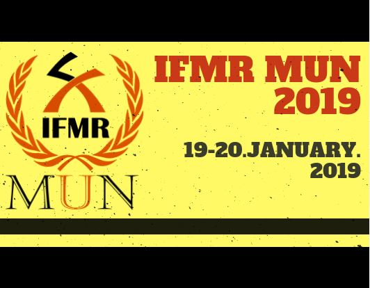 IFMR Model United Nations 2019