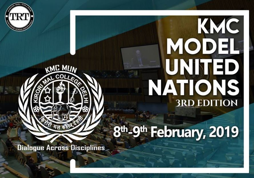 Kirori Mal College Model United Nations 2019