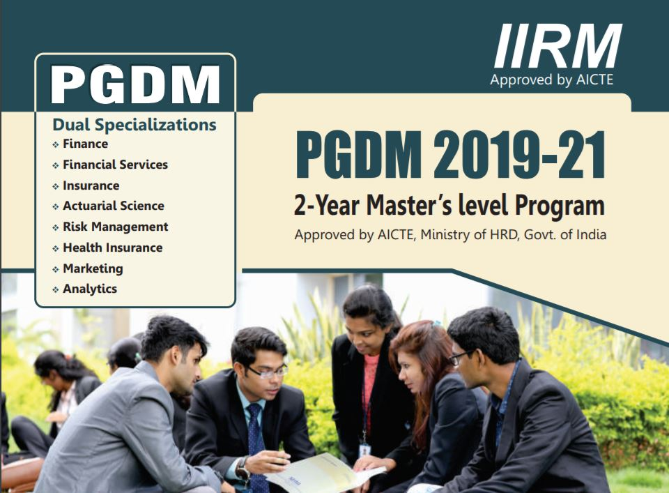 PGDM @ Institute of Insurance and Risk Management (IRDA Initiative), Hyderabad: Applications Open