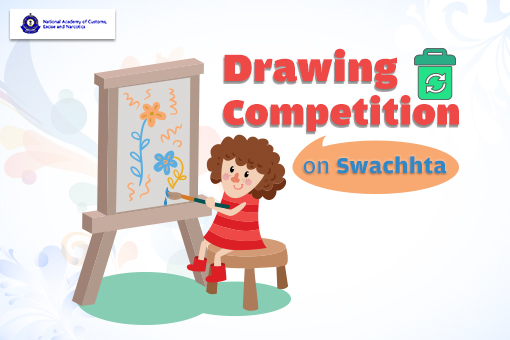 Drawing Competition Swachhta National Academy Customs
