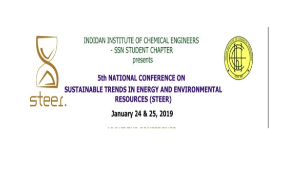 Conference on Sustainable Development SSN College of Engineering