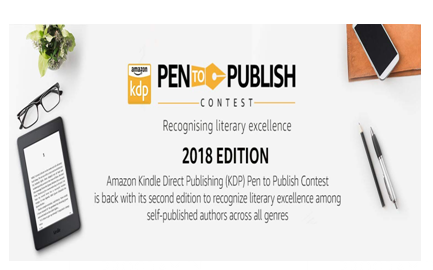 Amazon Kindle Direct Publishing Pen to Publish Contest [Prizes Worth Rs. 15 Lakhs]: Participate by Feb 9