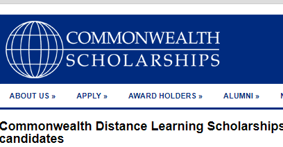Commonwealth Distance Learning Scholarships 2019: Apply by March 22
