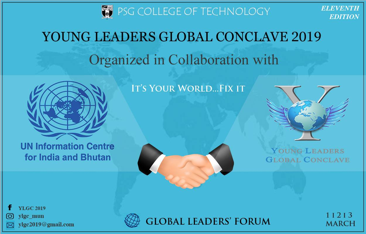 Young leaders MUN PSG College Coimbatore