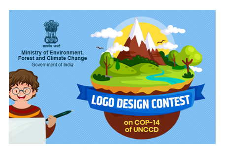 Ministry of Environment Logo Design Contest for COP 14 of UNCCD [Prizes Worth Rs. 50K]: Submit by Apr 7
