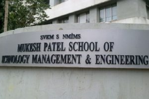 Mukesh PAtel School Integrated BTech Admission 2019