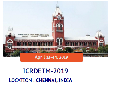 CfP: Conference on Developments in Engg, Tech & Management @ Institute for Engineering Education & Entrepreneurship [Chennai, Apr 13-14]: Submit by Apr 8