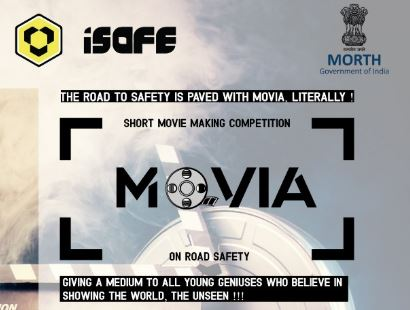 Movia: Short Movie Making Contest by Indian Road Safety Campaign [Prizes Worth Rs. 15K]: Register by April 30: Expired