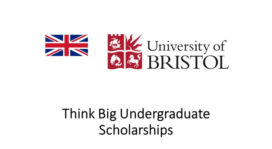 Think Big Undergraduate Scholarships University Bristol