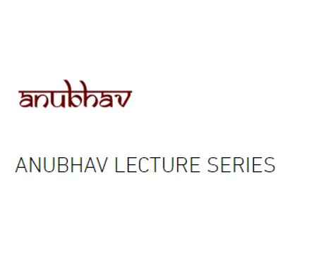 Anubhav lecture series scholarship