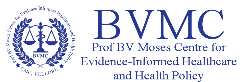 CMC Vellore Workshop Systematic Reviews Meta-analysis Using R