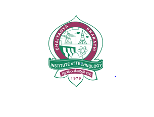 JOB POST:  Assistant Professor @ CBIT, Hyderabad [Monthly Salary Rs. 39k]: Apply by July 15