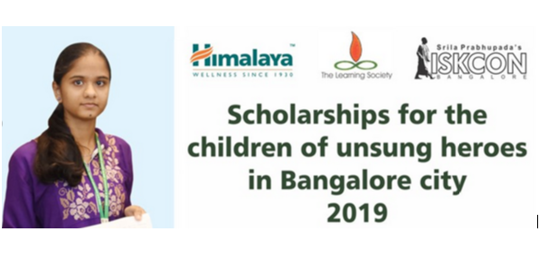 ISKCON-Himalaya Drug Scholarship 2019 for Bangalore Students [Std. X to XII]: Apply by July 1