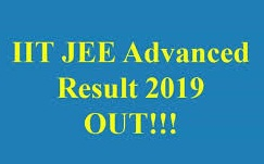IIT-JEE Advanced 2019: Results Announced!