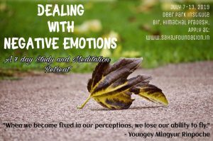 Dealing with Negative Emotions Retreat