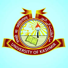 PhD MPhil University of Kashmir