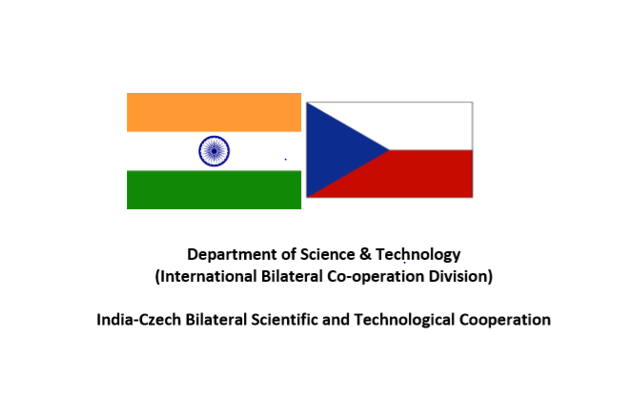 Call for Joint Project Proposals @ India-Czech Bilateral Scientific and Technological Cooperation: