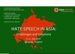 Conference Hate speech in Asia Bangkok 300x217 1