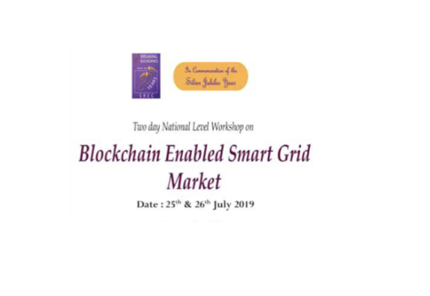 "Workshop on ""Blockchain Enabled Smart Grid Market @ SNR College, Coimbatore"