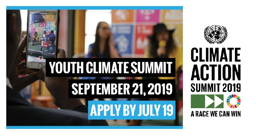 United Nations Youth Climate Change Summit 2019