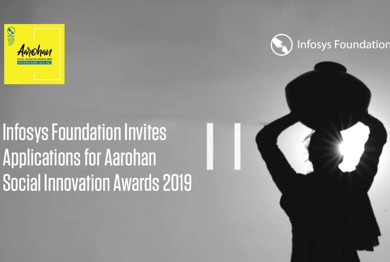 infosys aarohan social innovation awards 2019