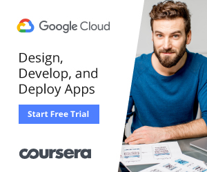 Google Cloud's Course on Designing, Developing and Deploying Mobile Apps: Apply Today [COURSERA AFFILIATE LINK]