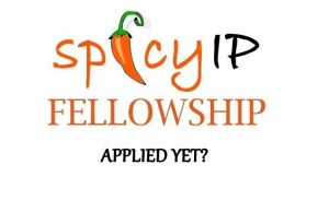 SpicyIP Fellowship 2019-20 [Stipend Rs. 45,000/Year]: Apply by July 31: Expired