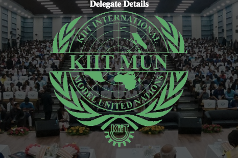 KIIT International Model United Nations 2019 [Sep 20-22, Bhubaneswar]