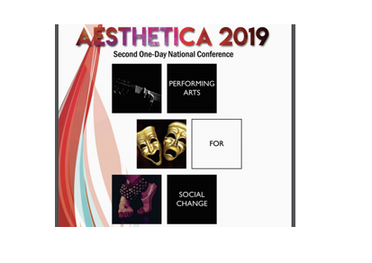 Aesthetica 2019 Conference by Dept. of Performing Arts @ Christ (Deemed to be University), Bangalore [Sep 21]