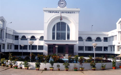 Tripura University teaching jobs