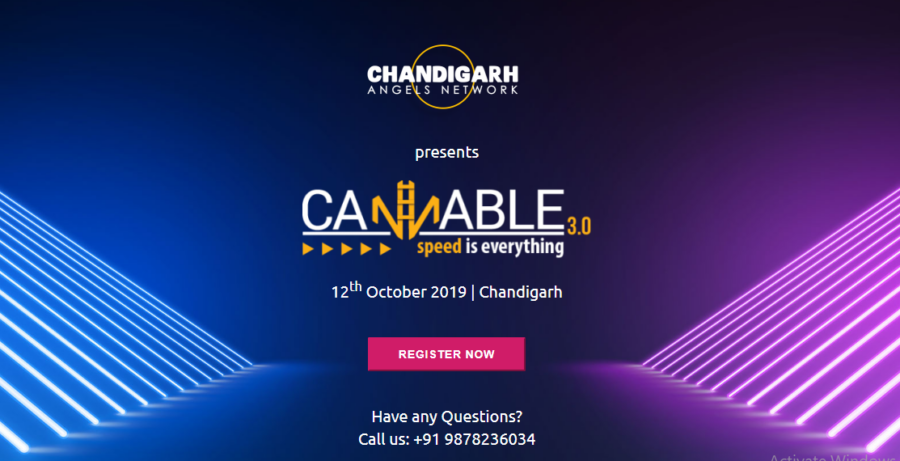 CANNABLE 3.0 by Chandigarh Angels Network [Oct 12]: Registrations Open