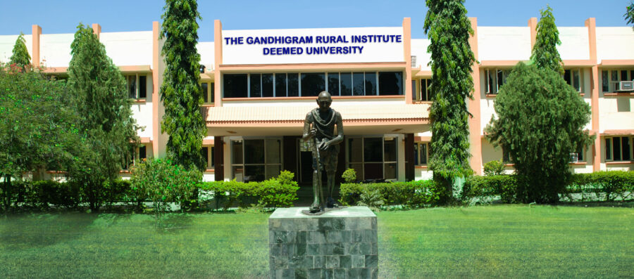 The Gandhigram Rural Institute job