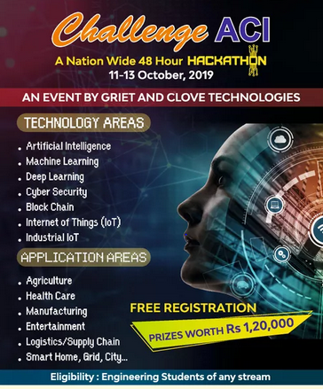 48 Hour Hackathon at GRIET, Telangana