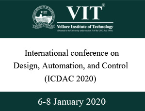 Conference Design Automation Control VIT Vellore
