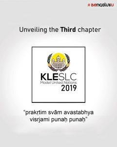 KLE Society Law College Model United Nations 2019