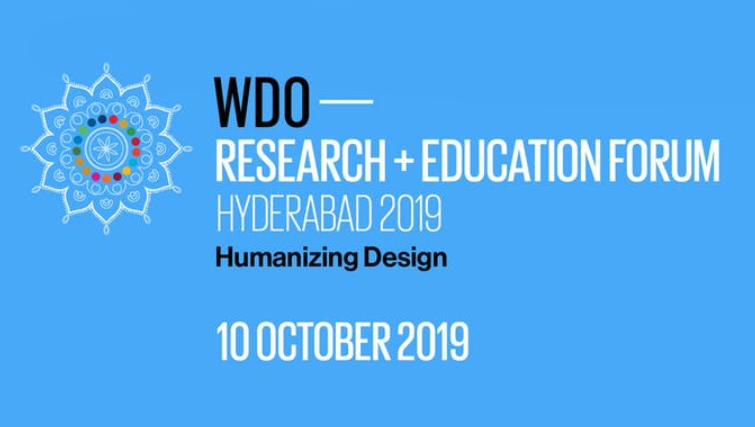 WDO Research & Education Forum 2019 at Indian School of Business, Hyderabad [Oct 10]: Registration Open