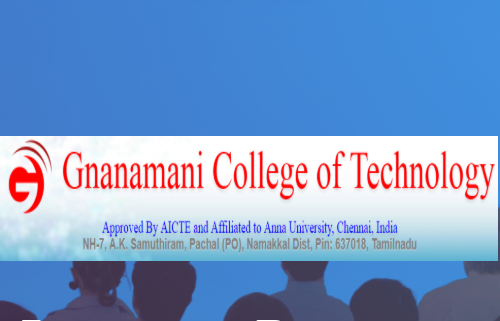 conference on material science gnanamani college TN