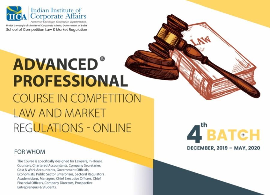 IICA Course competition law Market regulation