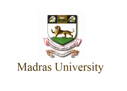 PhD Admission 2020 Madras university