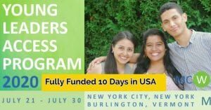 Young Leaders Access Program 2020-21