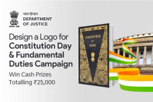 Logo Contest for Constitution Day & Fundamental Duties Campaign [Prizes worth Rs. 25K]: Submit by Nov 12